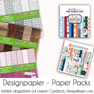 Designpapier & Paper Packs